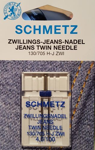 Zwillingsnadel Jeans 130/705 H-J ZWI Abstand 4,0